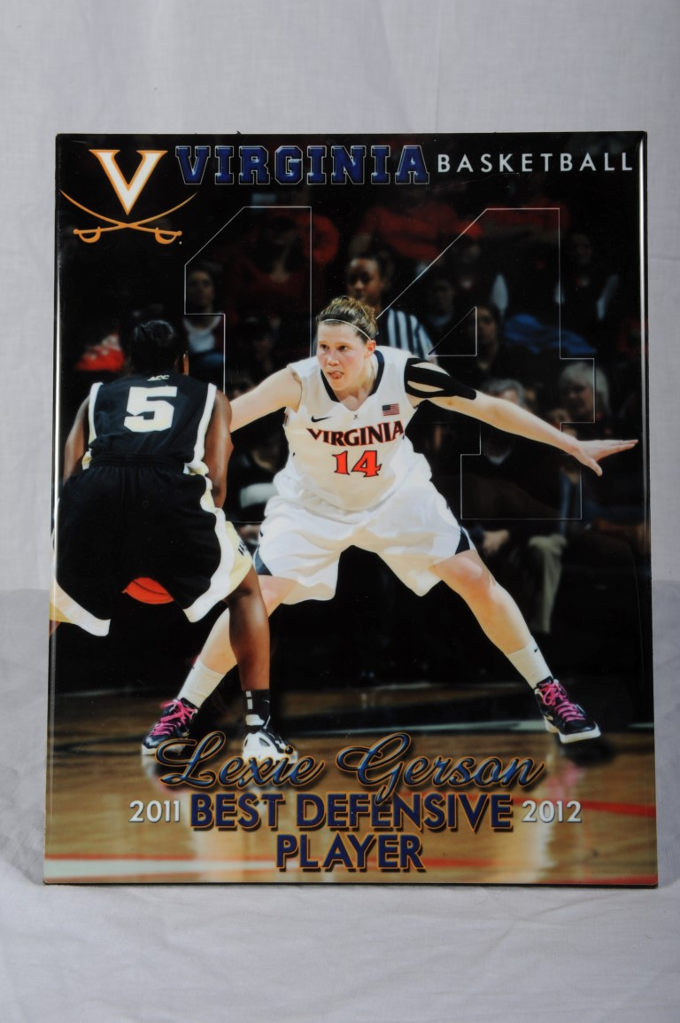 Award to Lexi Gerson as Best Defensive Player         Link to Basketball    Link to Lexi Gerson