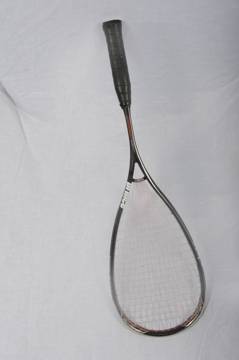 Squash Racquet Used by Amy Gross    Link to Squash    Link to Amy Gross